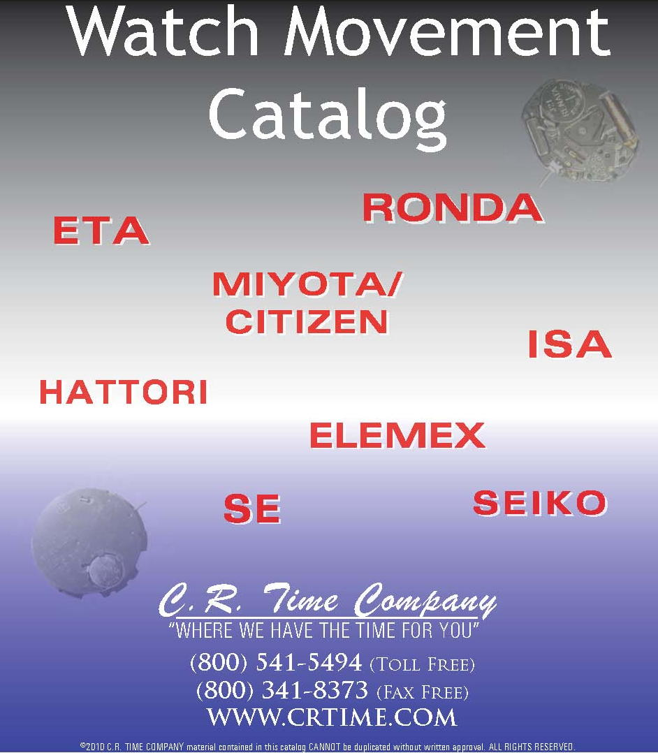 Watch Movement Catalog 2