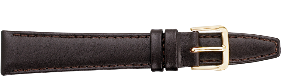 STRAPS, LEATHER #332 16mm BRN WB STR 332.2.16L