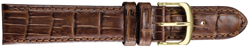 STRAPS, LEATHER #347 12mm BRN WB STR 347.2.12R