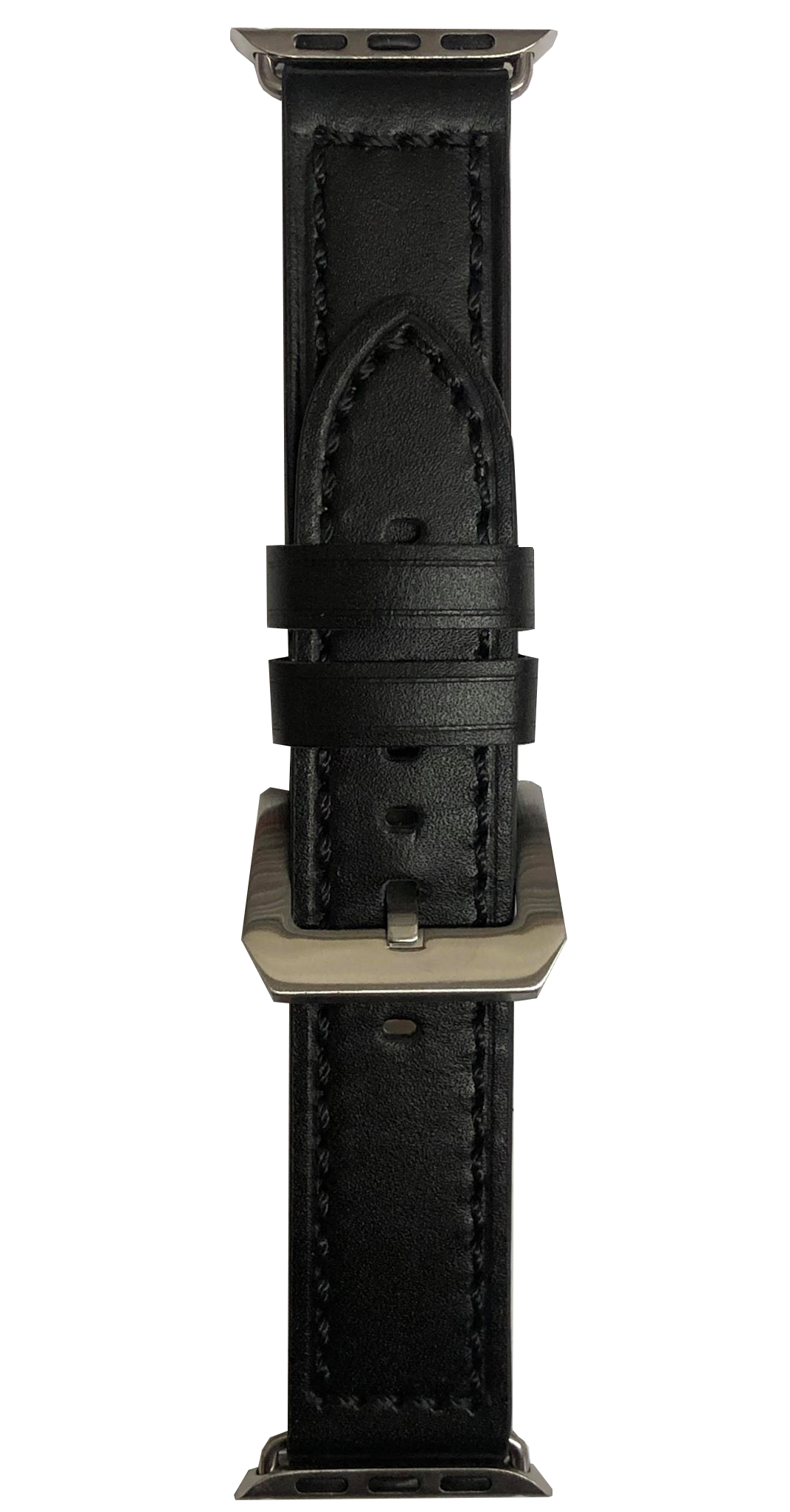 BAND, LEATHER 38mm BLACK