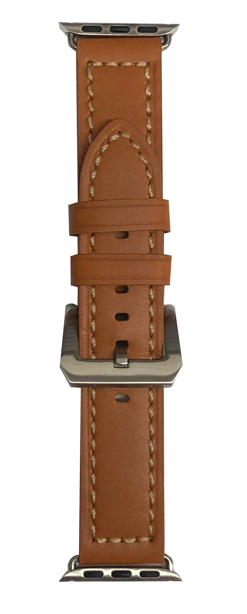 BAND, LEATHER 38mm LT BROWN