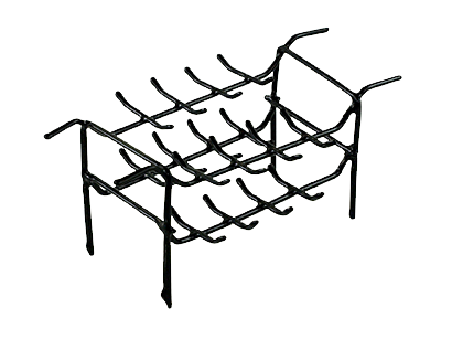 RING RACK, PLASTIC - DOUBLE