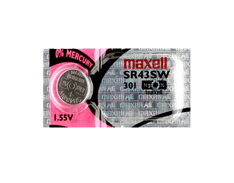 MAXELL TEAR STRIP (SR43SW) B8 301