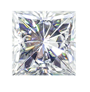 MOISSANITE, PRINCESS    3.5mm ST AK-HSNN 3.5