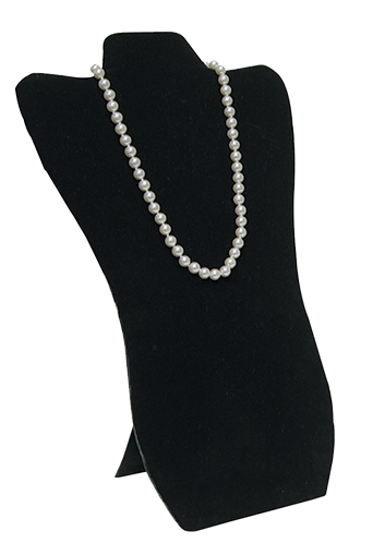 DISPLAY, NECKLACE TALL     BLK P1 TNG 67-3 BLK