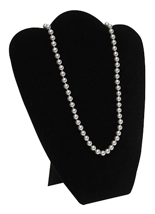DISPLAY, NECKLACE MEDIUM   BLK P1 TNG 67-6 BLK