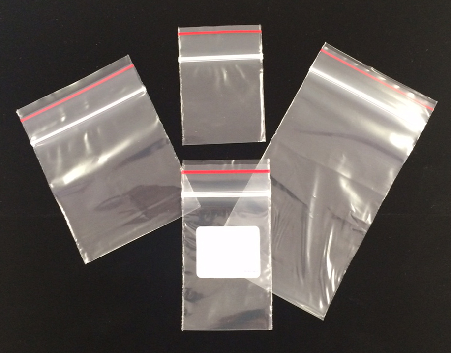 ZIP LOCK BAG 3 x 4  PLAIN Z1 ZIP 3X4
